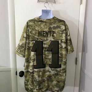 New Nike NFL Eagles Carson Wentz Jersey Size XXL